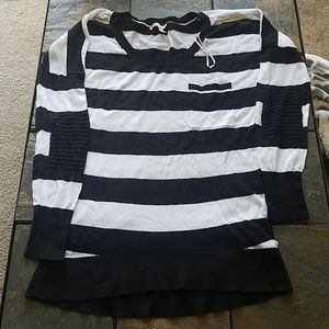 Victoria's Secret Light Weight Stripe Sweater M